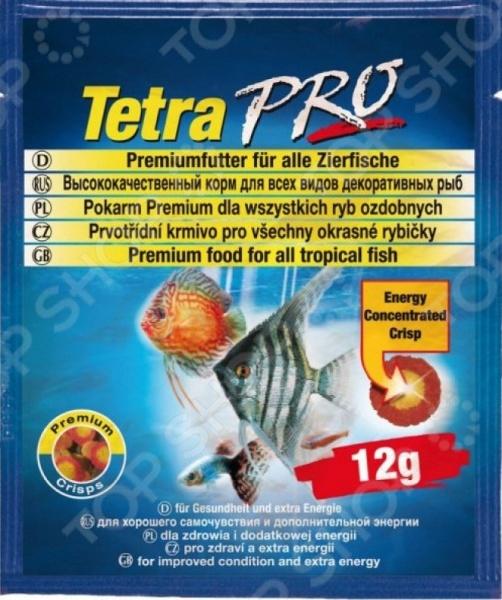 Корм для декоративных рыб Tetra Pro Energy 12г energy