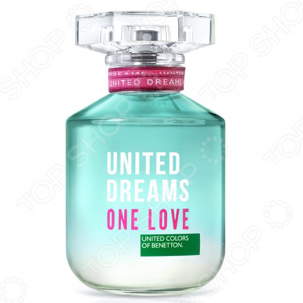 Туалетная вода для женщин Benetton Ud One Love, 50 мл cacharel туалетная вода женская amor amor l eau 50 мл os