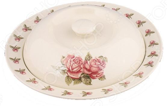 Блюдо для блинов Lefard «Корейская роза» 388-312 полотенце для кухни арти м корейская роза