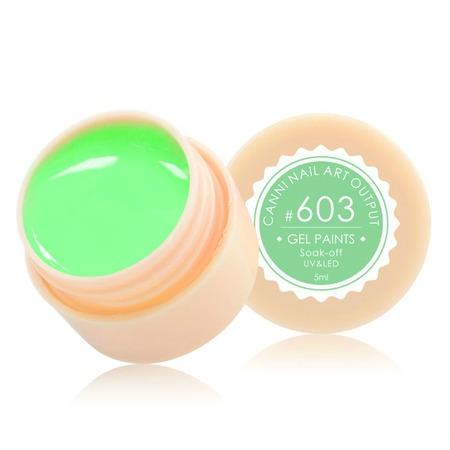 Купить Гель-краска для ногтей CANNI Nail Art Output №603