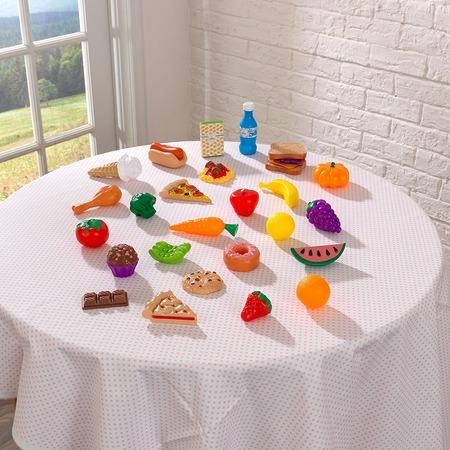 Купить Набор продуктов игрушечных KidKraft «Вкусное удовольствие». Количество элементов: 30