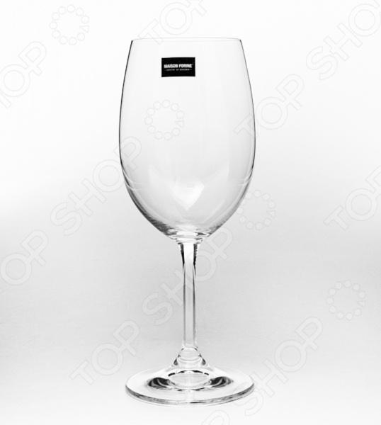 Набор бокалов Banquet Crystal Leona. Количество предметов: 4 набор бокалов crystalex ангела оптика отводка зол 6шт 400мл бренди стекло