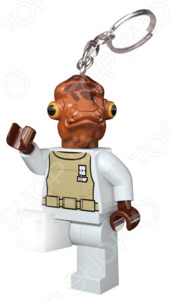 Брелок-фонарик LEGO Admiral Ackbar