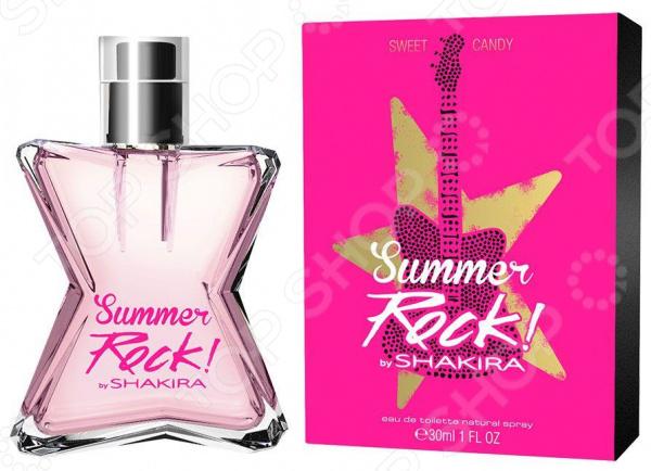 Туалетная вода для женщин Shakira Candy Rock Summer Edition, 30 мл shakira dance diamonds туалетная вода женская 30 мл