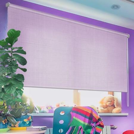 Купить Рулонная штора Эскар однотонная. Цвет: фиолетовый
