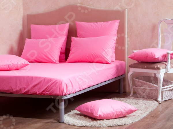 Комплект: простыня и наволочки MIRAROSSI Pink mirarossi veronica pink