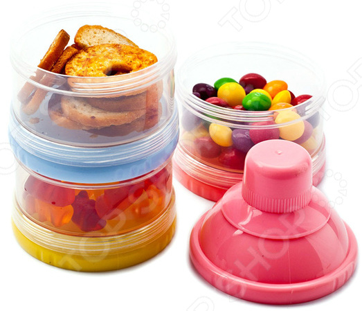 Контейнер для пищевых сыпучих продуктов Bradex что можно во франции из продуктов