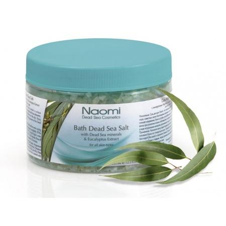Купить Соль для ванны Наоми Мертвое море с экстрактом эвкалипта