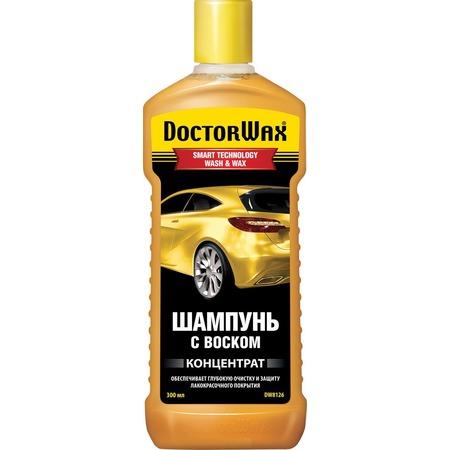 Автошампунь концентрированный Doctor Wax с воском