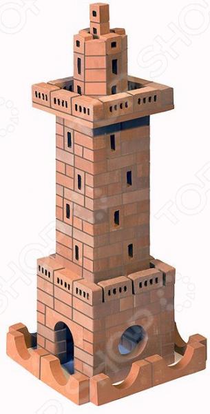 Конструктор из глины Brick Master 203 «Маяк» brick master кирпичики беседка