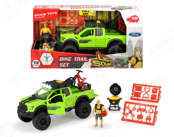 Машинка игрушечная с фигуркой Dickie «Велосипедист» игрушка dickie toys набор машинок 3745000