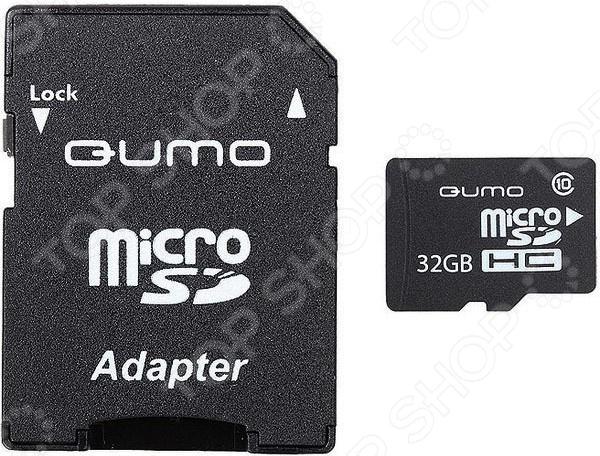 Карта памяти Qumo QM32(G)MICSDHC10