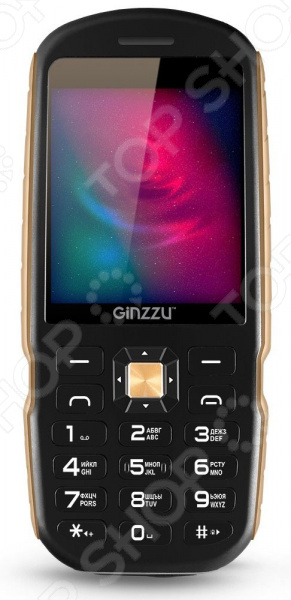 Мобильный телефон защищенный Ginzzu R1D мобильный телефон ginzzu r1d шампань