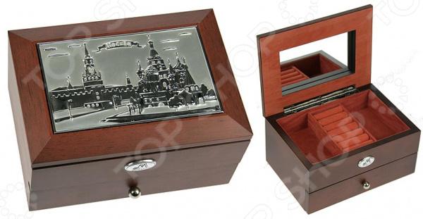 Шкатулка ювелирная двухъярусная Moretto 39934