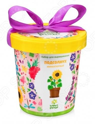 Набор для выращивания Happy Plant «Горшок. Подсолнух миниатюрный»