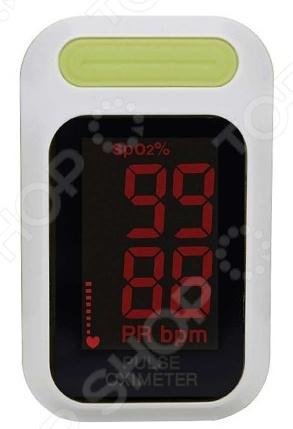 Пульсоксиметр на палец SpO2  Светодиодный дисплей. Разрешение: 1 .  Долгое время работы до...