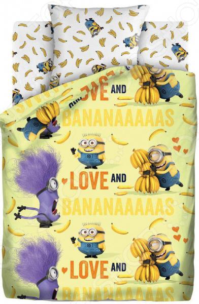Детский комплект постельного белья Непоседа «Бананас» детский комплект постельного белья непоседа на рыбалке