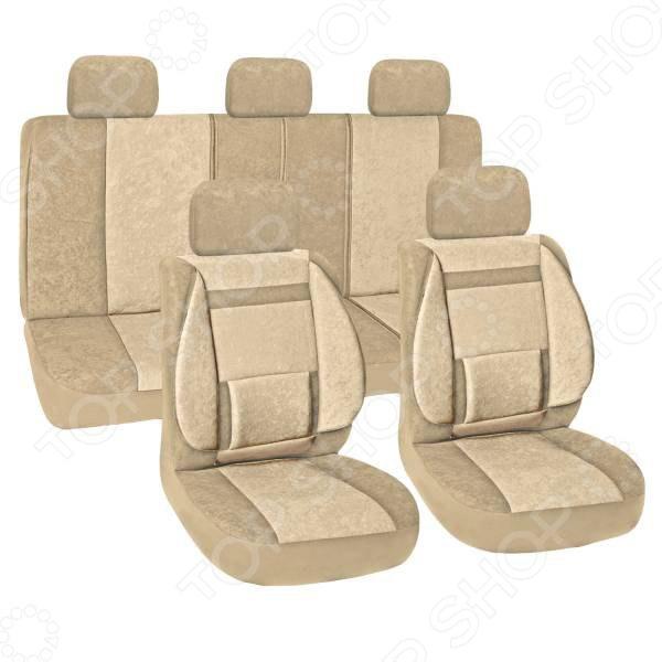 Комплект чехлов на сиденья автомобиля SKYWAY Protect Plus-10 1076