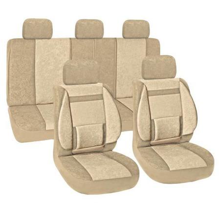 Купить Комплект чехлов на сиденья автомобиля SKYWAY Protect Plus-10 1076