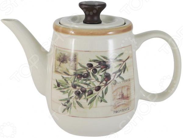 Чайник заварочный LF Ceramic «Оливки» кружка lf ceramic оливки 500 мл