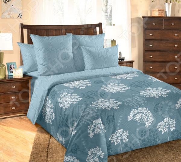 цена Комплект постельного белья ТексДизайн «Фенхель 1» онлайн в 2017 году