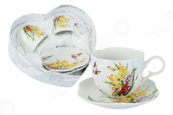 Чайная пара Colombo «Лилии»