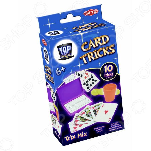 Игра настольная развивающая для детей Tactic «Карточные фокусы» игра печатная tactic 40275 флаги европы для детей