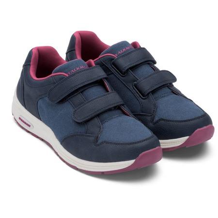 Купить Кроссовки адаптивные Walkmaxx женские. Цвет: синий