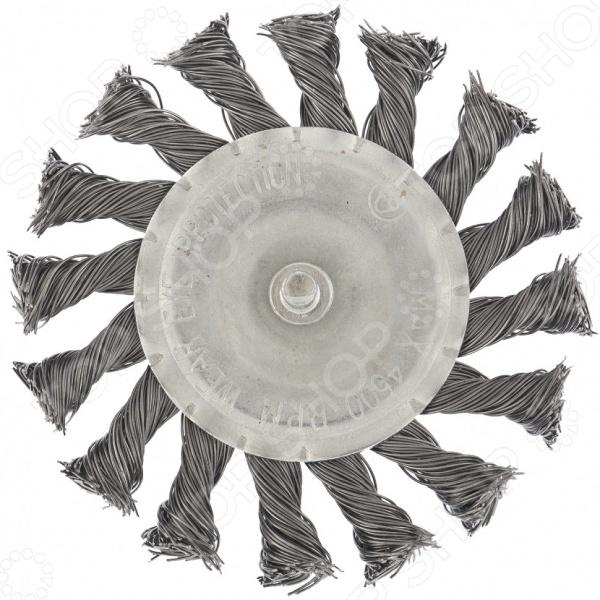 Щетка для дрели MATRIX плоская со шпилькой