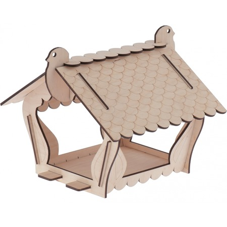 Кормушка для птиц PALISAD «Шале» 64002