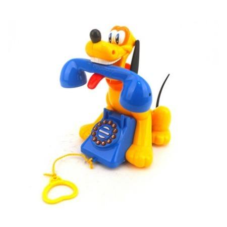 Купить Игрушка-каталка со звуком Huile Toys «Собачка с телефоном»