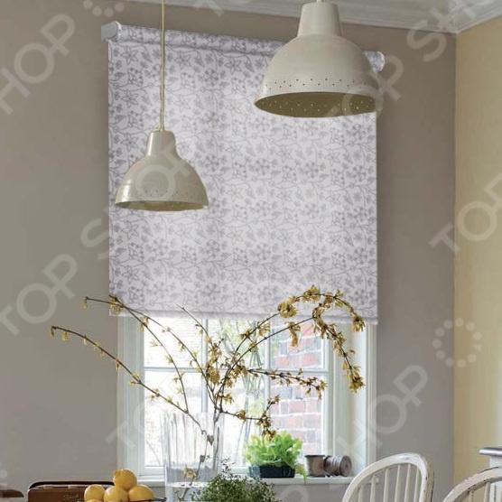 Рулонная штора Эскар «Зимний сад»