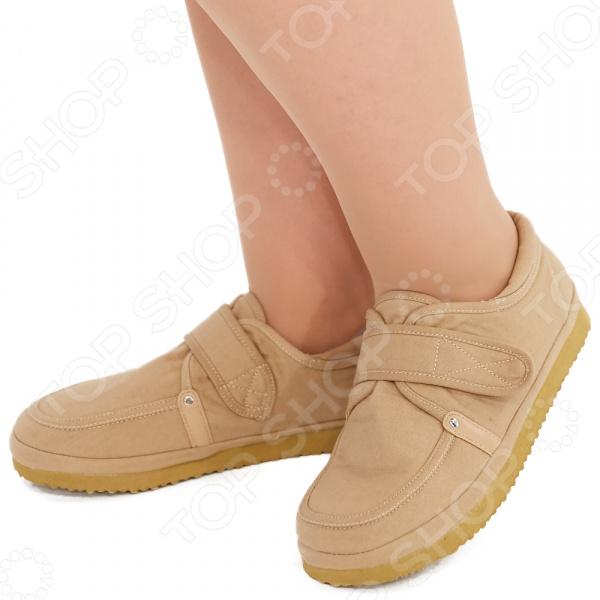 Туфли EGO «Нет усталости». Цвет: хаки