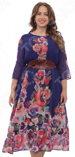 Платье Матекс «Джасинта». Цвет: синий платье bellbimbo цвет синий