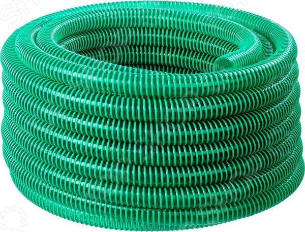 Шланг напорно-всасывающий со спиралью Зубр 40325