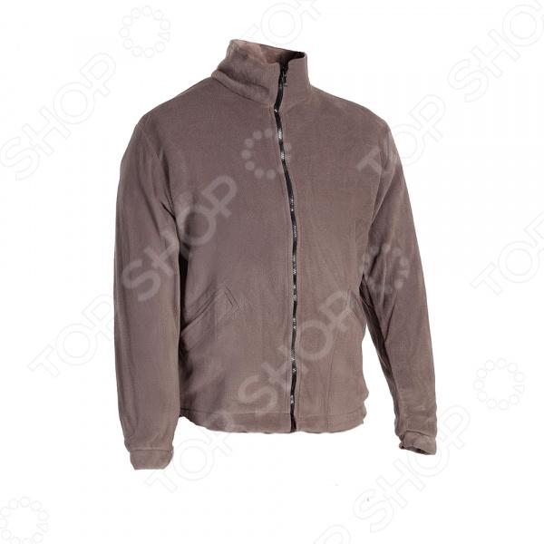 Куртка флисовая Huntsman «Байкал». Цвет: серый Куртка флисовая Huntsman BL-200-K /52-54
