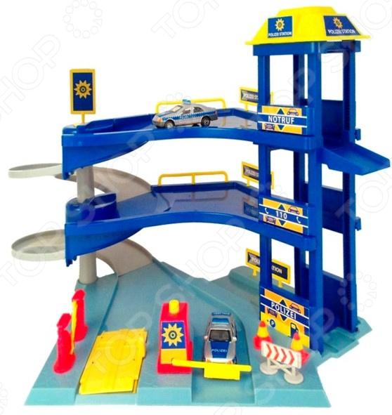 Набор игровой с машинками Dickie «Гараж» игровые наборы dickie игровой набор аэропорт