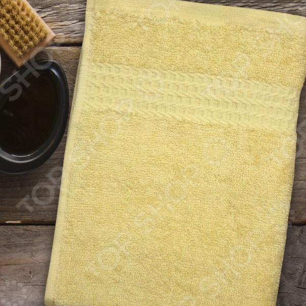 Полотенце махровое Amore Mio AST Classic. Цвет: желтый полотенце махровое amore mio ast classic цвет малиновый