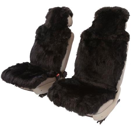 Купить Комплект меховых накидок на сиденья Senator Country Classic