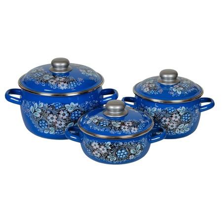 Купить Набор посуды Стальэмаль «Вологодский сувенир»