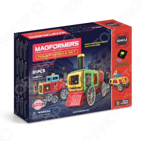 Конструктор магнитный Magformers Power Vehicle Set