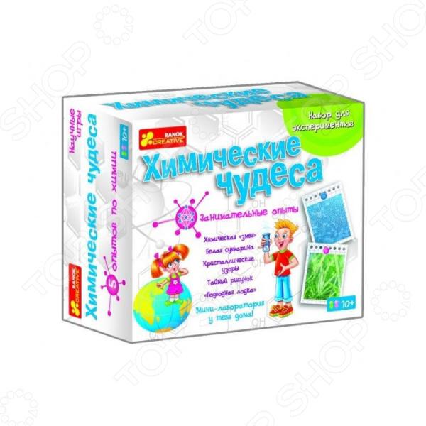 Набор для экспериментов Ранок «Химические чудеса»