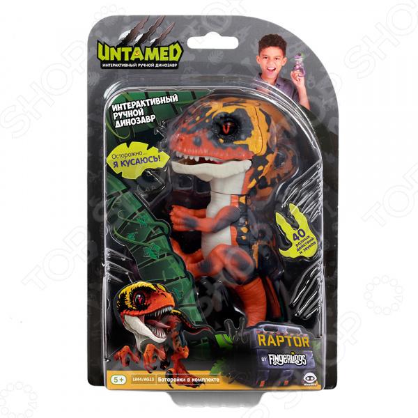 Игрушка интерактивная Fingerlings «Динозавр Блейз»