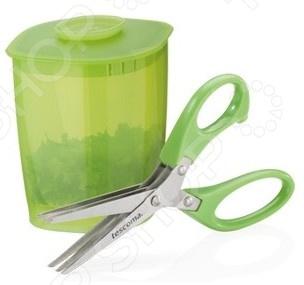 Ножницы для нарезки зелени с емкостью Tescoma Presto