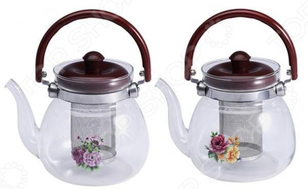 Чайник заварочный Wellberg WB-6852. В ассортимете
