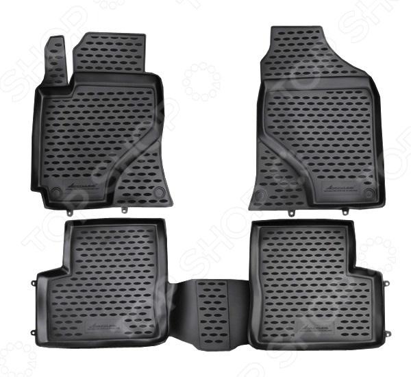 Комплект ковриков в салон автомобиля Novline-Autofamily Lifan Solano 2010 4 набор автомобильных экранов trokot для lifan solano 2 2016 наст время на передние двери укороченные