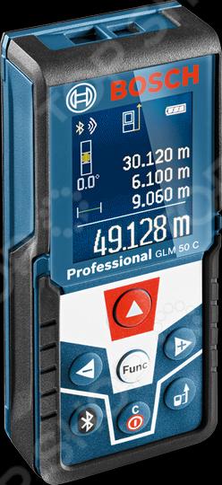 Дальномер лазерный Bosch GLM 50C Prof лазерный дальномер bosch glm 40 prof