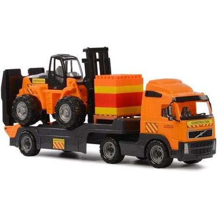 Купить Машина игрушечная с аксессуарами POLESIE Volvo «Супер-Микс»