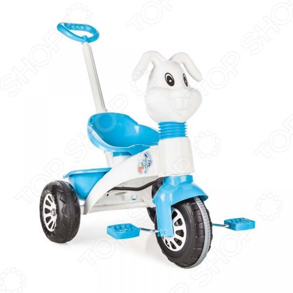 Велосипед трехколесный PILSAN Bunny с ручкой управления в пакете. В ассортименте