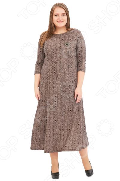 Платье Гранд Гром «Сердца трех». Цвет: коричневый сердца трех cdmp3